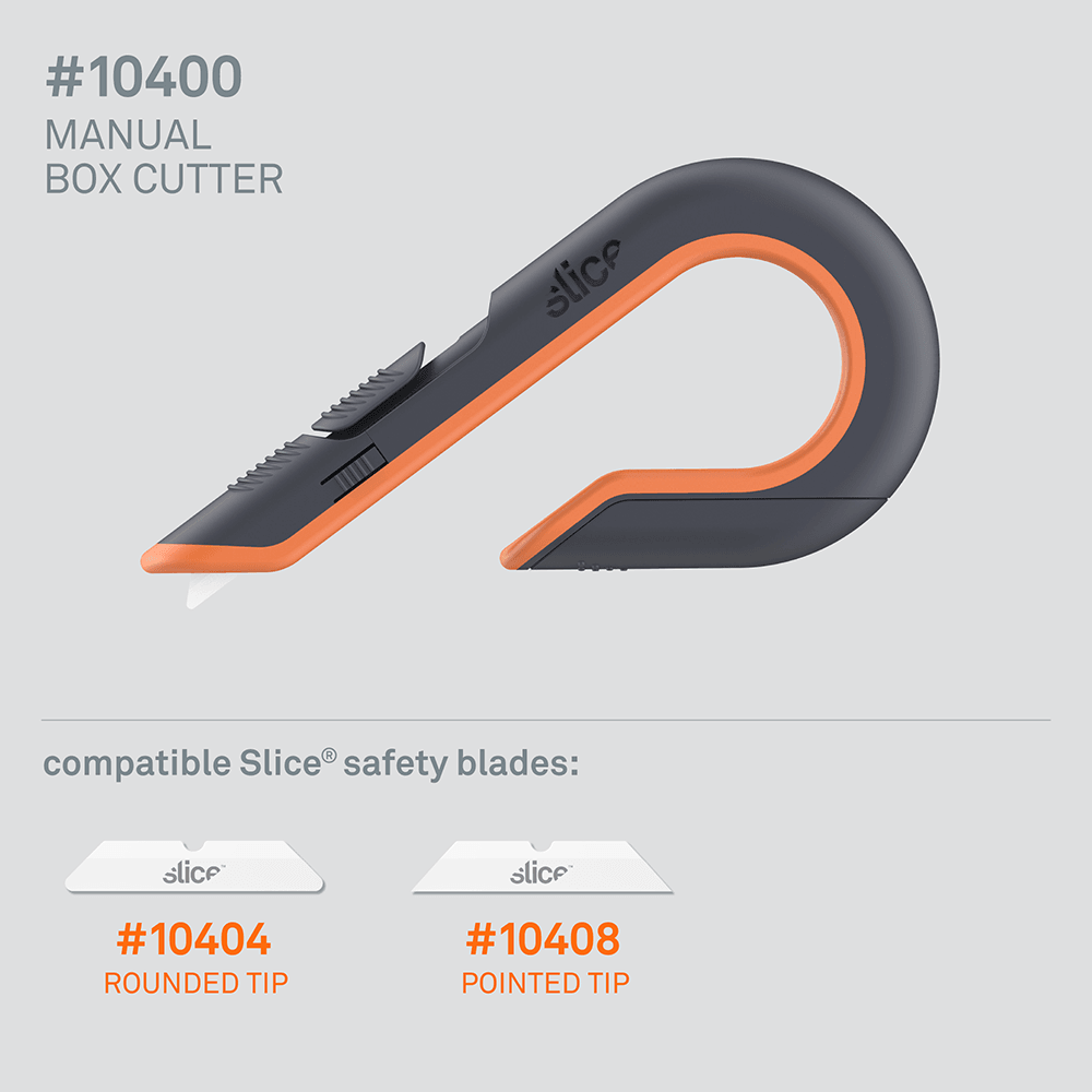 Slice 10400 Manual Box Cutter - Compatible Baldes