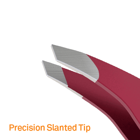 Wide Grip Tweezers - Slanted Tip