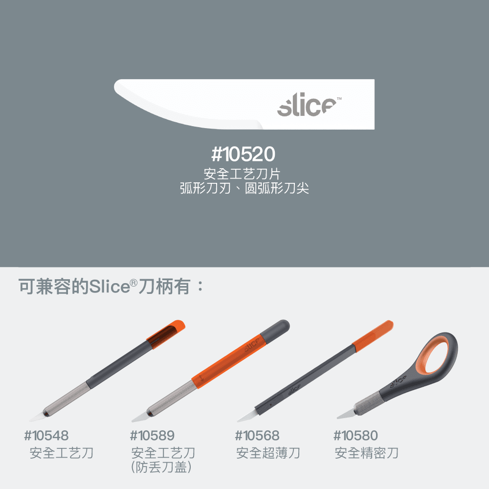 Slice 10520 Craft Blades - Compatible Handles