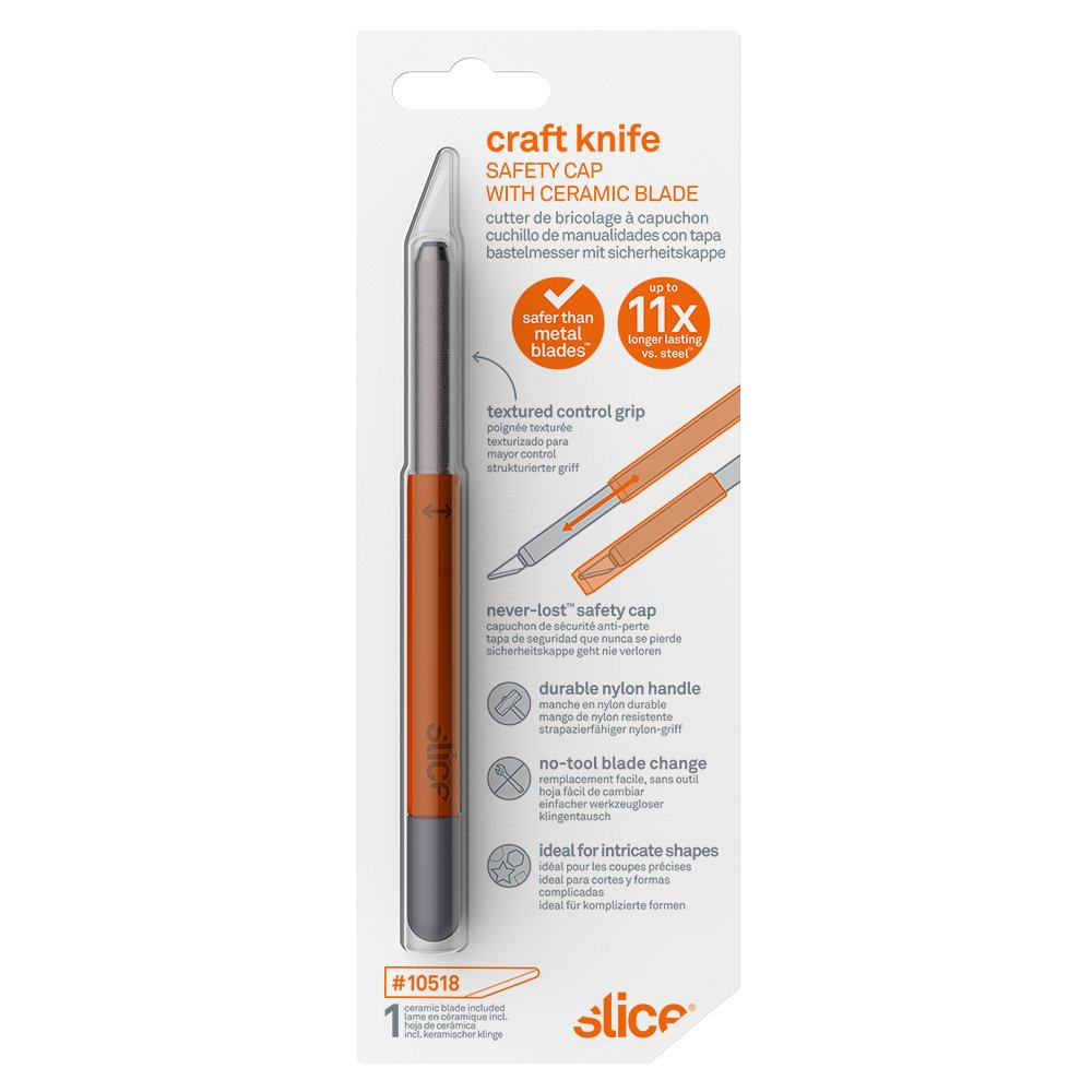 Craft Knife (Safety Cap) - Packaging