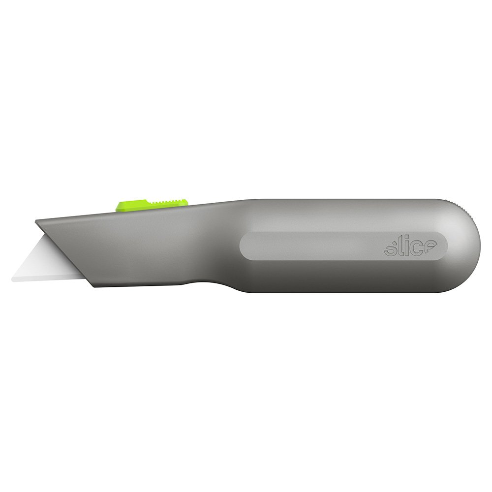Auto-Retractable Metal-Handle Utility Knife